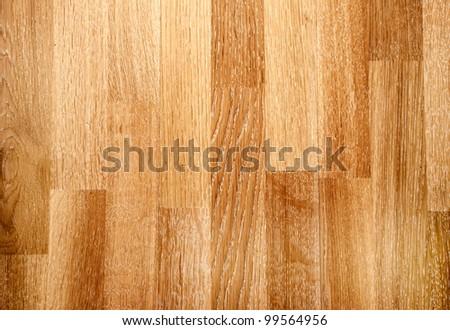 New oak parquet texture - stock photo