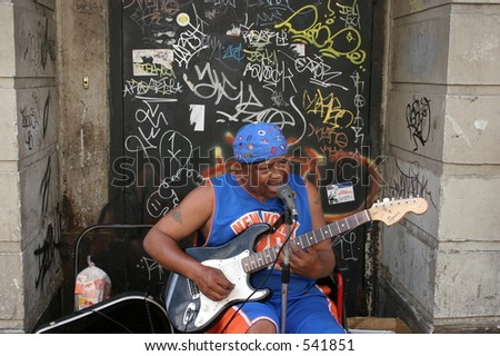 New Orleans Blues - stock photo