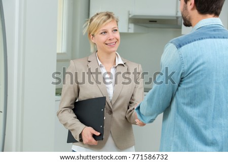 New owner coming agreement realtor stock photo 771586732 shutterstock new owner coming to an agreement with a realtor platinumwayz