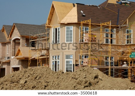 New residential construction - 1