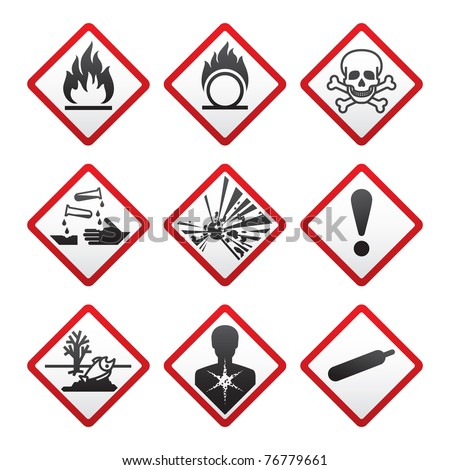 New safety symbols.