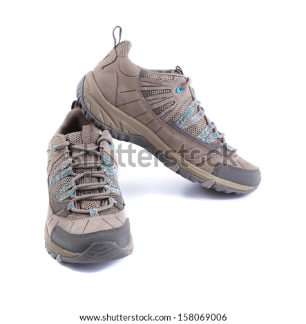 New sport shoes. Isolated on a white background.