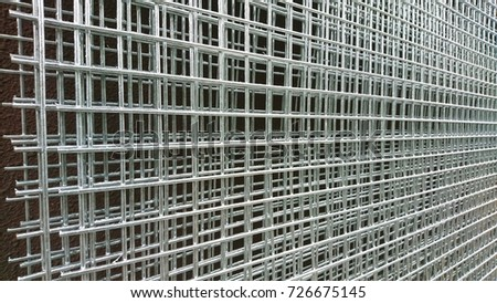 New Stainless Steel Wire Mesh Panels Stock Photo (Royalty Free ...