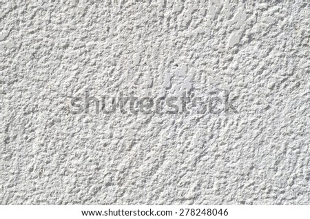New stone cladding plate on wall closeup