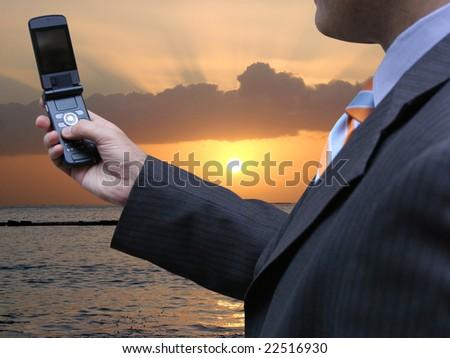 New technology - stock photo