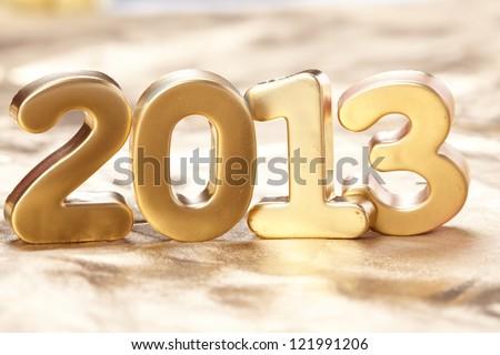 New 2013 year - stock photo