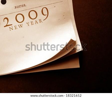 New year 2009 - stock photo