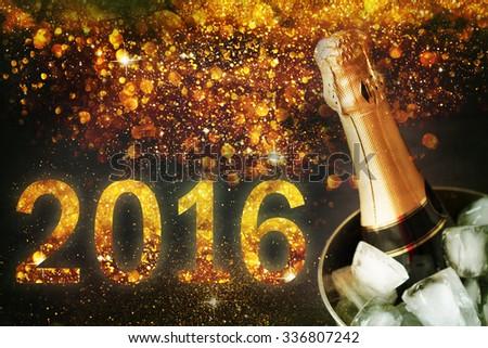 New Year Celebration. - stock photo