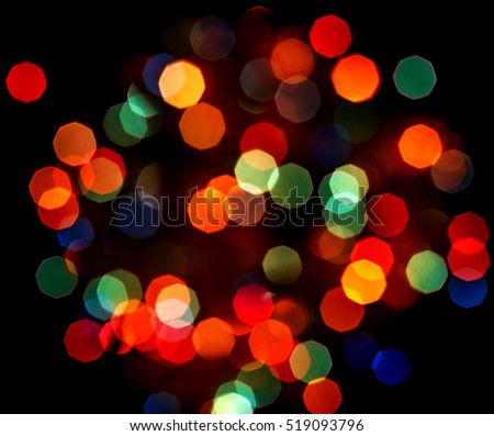 New Year, Christmas, Blur, Colorful bokeh, Background, Closeup, Texture, Celebration, Wisps