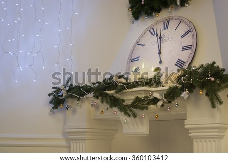 New Year Concept. Nearly Twelve O'clock Midnight