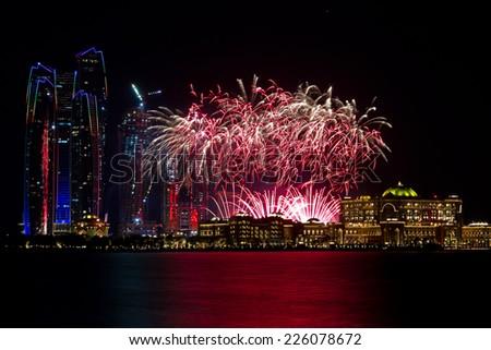 New Year Firework  - stock photo