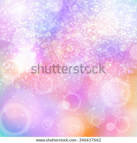 New Year's color shining background. Christmas bright background with shining effect. Background for card. Blured background. Lighting effect. Bright Christmas background. Festive background. New year - stock photo
