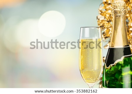 New Year's Eve. - stock photo