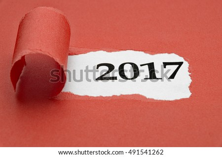 New Year 2017 with great colors and detail