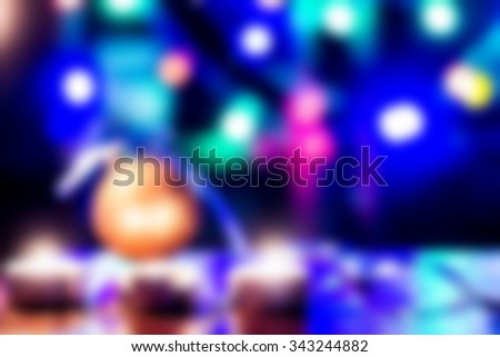 New year, xmas, christmas light abstract background with gold bokeh. Eve of festive holiday. Backdrop decoration glow, golden, glitter design. Magic celebrate design. Elegant decor element. - stock photo