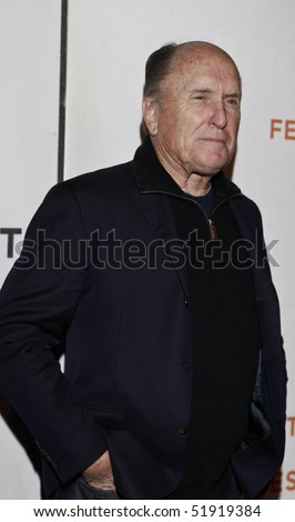NEW YORK - APRIL 27: Actor Robert Duval attends the 'Get Low' premiere during the 9th Annual Tribeca Film Festival at the Tribeca Performing Arts Center on April 27, 2010 in New York City.