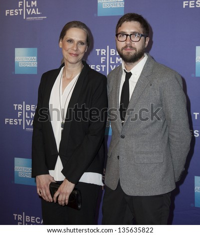 NEW YORK - APRIL 18: Amy Morton and Lance Edmands attend 'Bluebird' Premiere during the 2013 Tribeca Film Festival at SVA Theater on April 18, 2013 in New York City