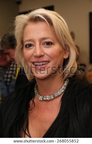 NEW YORK - APRIL 08: Guests attend the Victor De Souza Fall 2015 collection reception hosted by Jean Shafiroff at Madame Paulette on April 08, 2015 in New York, USA