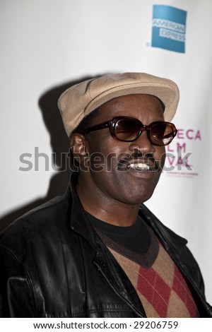 "NEW YORK - APRIL 24: musician Fab 5 Freddy attends the premiere of ""Burning Down the House: Story of CBGB"" during the Tribeca Film Festival on April 24, 2009 in New York."