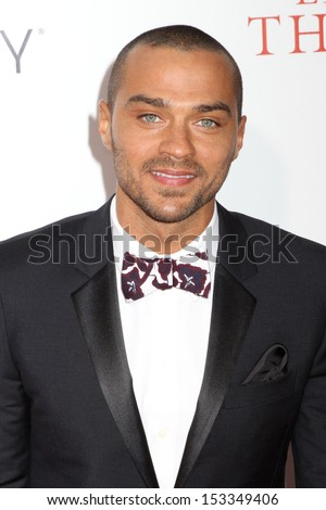 "NEW YORK - AUG 5: Jesse Williams attends the premiere of ""The Butler"" at the Ziegfeld Theatre on August 5, 2013 in New York City."