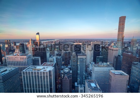 new york central park - stock photo