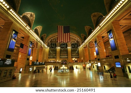 New York Central Station - stock photo