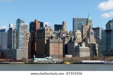 New York city - stock photo