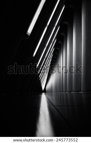 New York City abstract architecture. - stock photo