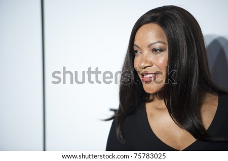 """NEW YORK CITY - APRIL 20: Grace Hightower, wife of Tribeca Film Fest founder Robert De Niro, arrives at the World Premier of """"The Union"""" on April 20, 2011 in New York City, NY - stock photo"""