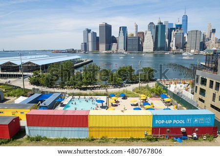 Brooklyn Bridge Park Stock Images Royalty Free Images Vectors Shutterstock