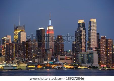 New York City Manhattan Famous Landmarks Stock Photo ...