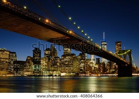 New York City Skyline - NYC - USA - stock photo