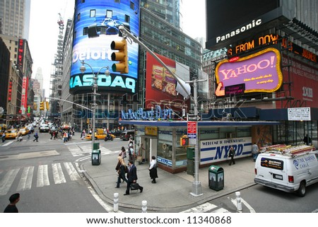 New york city - times square, Manhattan - stock photo