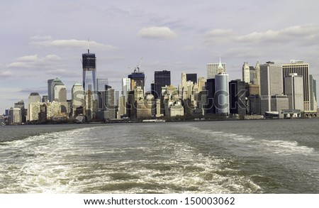 New York Cityscape, United States of America