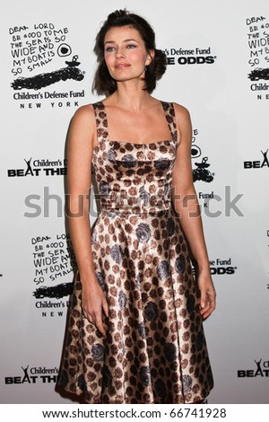 NEW YORK - DECEMBER 06: Paulina Porizkova  attends the 20th Anniversary Celebration of the Children's Defense Fund's Beat the Odds Program at Guastavino's on December 6, 2010 in New York City.