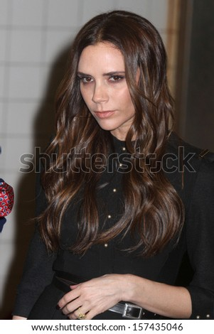 NEW YORK - FEB 15: Victoria Beckham attends the launch of Britain's GREAT campaign in Grand Central Station on February 15, 2012 in New York City.