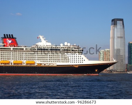 New York February Disney Fantasy Stock Photo - Fantasy cruise ship pictures