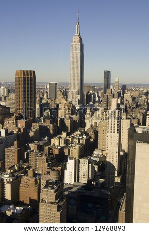 New York from Top - stock photo