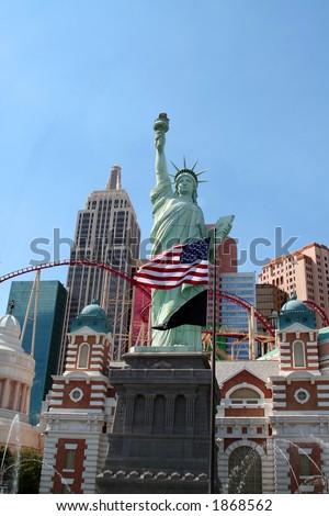 new york hotel las vegas - stock photo