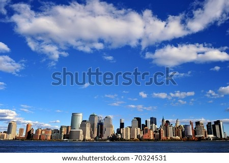 New York in autumn - stock photo