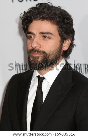 "NEW YORK - JAN 23: Oscar Isaac attends the premiere of ""W.E."" at the Ziegfeld Theater on January 23, 2012 in New York City."