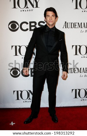 NEW YORK-JUNE 8: Actor Andy Karl attends American Theatre Wing's 68th Annual Tony Awards at Radio City Music Hall on June 8, 2014 in New York City. - stock photo