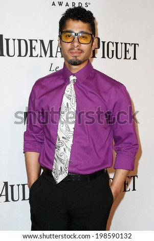 NEW YORK-JUNE 8: Actor Wilson Jermaine Heredia attends American Theatre Wing's 68th Annual Tony Awards at Radio City Music Hall on June 8, 2014 in New York City. - stock photo