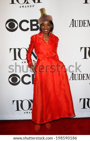 NEW YORK-JUNE 8: Actress Adriane Lenox attends American Theatre Wing's 68th Annual Tony Awards at Radio City Music Hall on June 8, 2014 in New York City. - stock photo