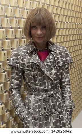 NEW YORK - JUNE 18: Anna Wintour attends Dramatically Different Party hosted by Clinique launch new Moisturizing Lotion at Loft & Garden at Rockefeller Center on June 18, 2013 in New York City