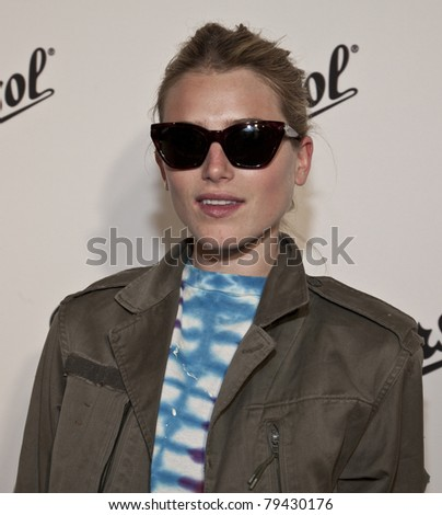 NEW YORK - JUNE 16: Dree Hemingway attends the Persol Magnificent Obsessions exhibition opening at Center 548 on June 16, 2011 in New York City.