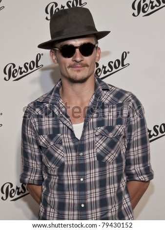 NEW YORK - JUNE 16: Rupert Friend attends the Persol Magnificent Obsessions exhibition opening at Center 548 on June 16, 2011 in New York City.