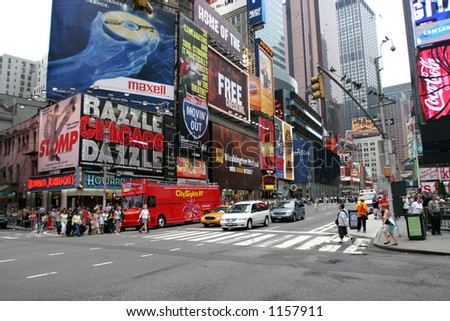new york - manhattan - stock photo