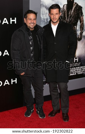 "NEW YORK - MARCH 26, 2014: Narciso Rodriguez attends the premiere of ""Noah"" at the Ziegfeld Theater on March 26, 2014 in New York City."