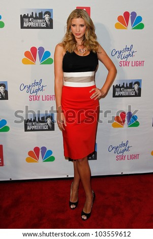 NEW YORK-MAY 20: Ivanka Trump attends the 'Celebrity Apprentice' Live Finale at the American Museum of Natural History on May 20, 2012 in New York City. - stock photo
